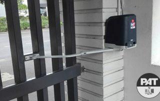 PAT Installation Automatic Gate Swing BFT VIRGO SMART BT A