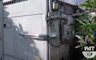 PAT Installation Automatic Gate Swing SWJ C02